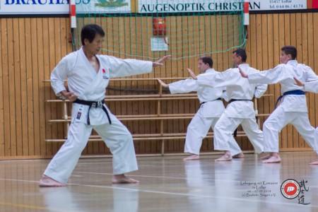 Karate - Kawasoe Sensei